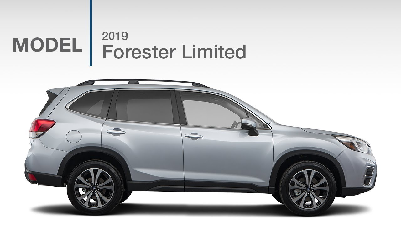 2019 Subaru Forester Limited Model Review Youtube