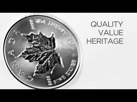 Silver Maple Leaf 1 Ounce Coin - Royal Canadian Mint