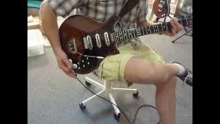 Dansan Guitars : John's almost finished ...