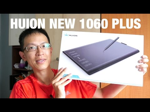 Review: New Huion 1060PLUS Graphics Tablet (2016)