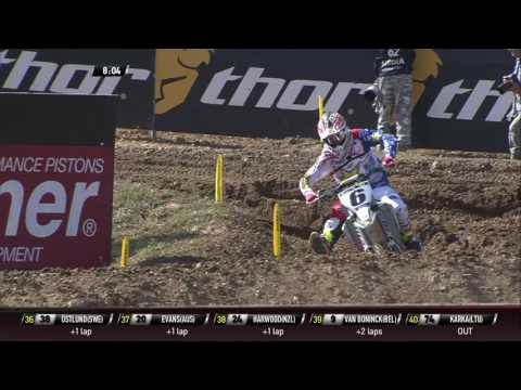 Herlings tries to pass Anderson MXoN Maggiora 2016 – motocross video