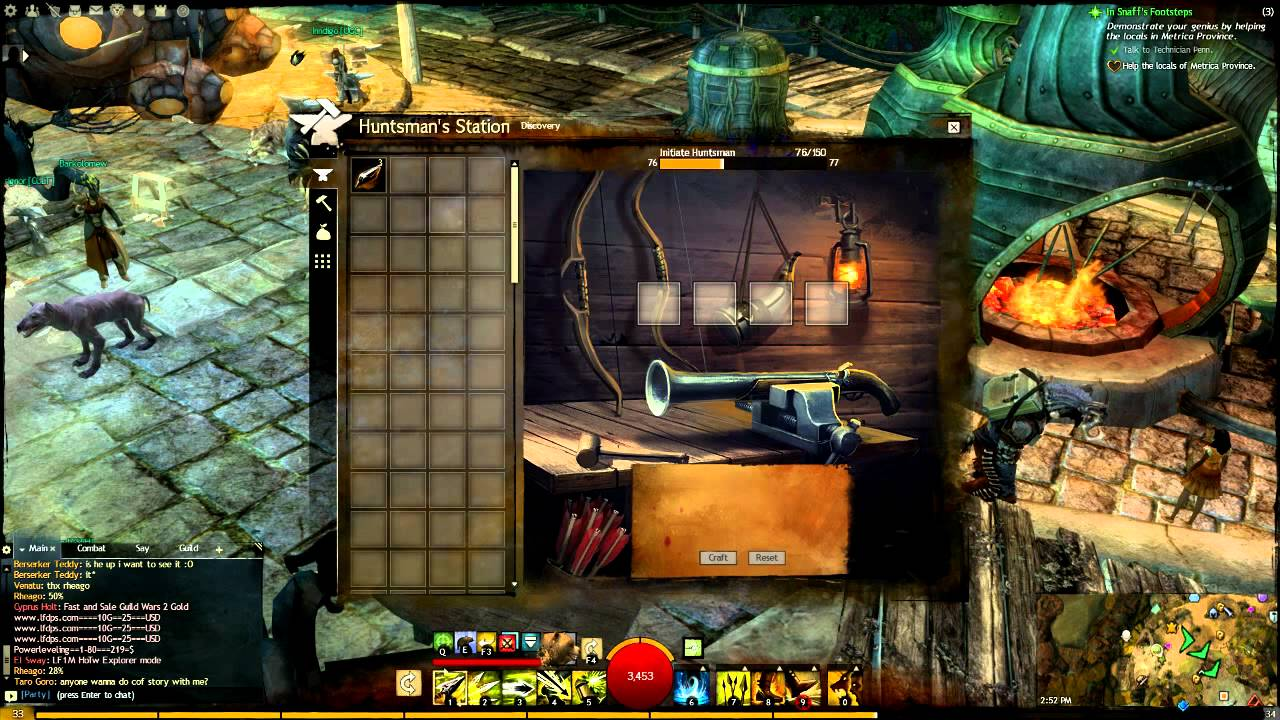 Guild Wars  Crafting Leveling