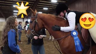 Our First Horse Show FIRST DAY TV