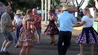 Good Vibrations Square Dance Club Yuba Sutter Fair 2011