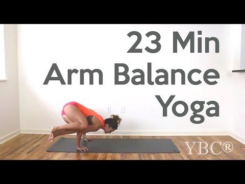 23 Minute Arm Balance Yoga