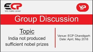 India not produced sufficient nobel prizes (Group Discussion)