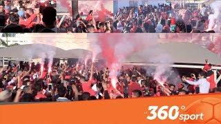 Le360.ma • جماهير الوداد تستقبل اللاعبين في المطار بكراكاج واحتفالات خيالية