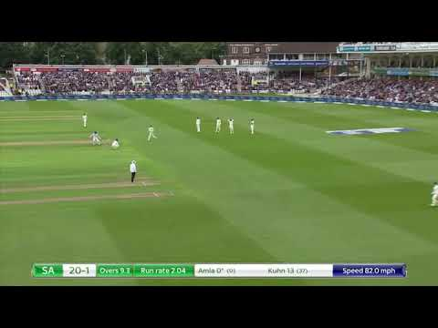 Amla's 2nd test match 1st innings highlighs against Eng 2017