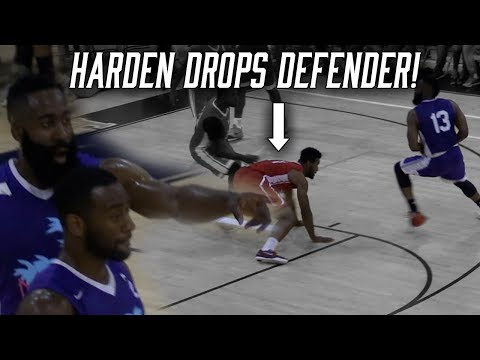 James Harden & John Wall TEAM UP in Miami Pro Am & GET BLOWN OUT!