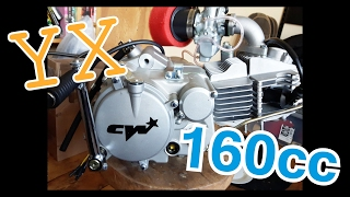NEW PIT BIKE ENGINE YX 160cc UNBOXING!