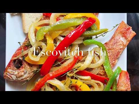 How To Make Escovitch Fish Jamaican Style