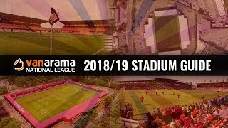Vanarama National League Stadiums 2018/19