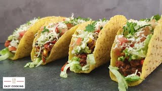 🌮Tacos recipe Vegetarian | quarantine cooking  | Easy Cooking Hub