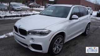 2014 BMW X5 M Package видео обзор.  Тест драйв 2014 БМВ F15 Х5 М Пакет.  Авто из США