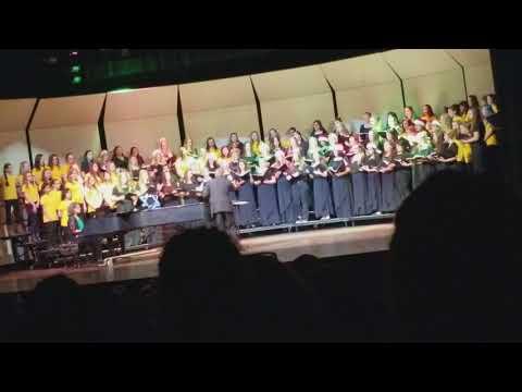 Walt Clark Middle School and Thompson Valley High School Christmas Concert.