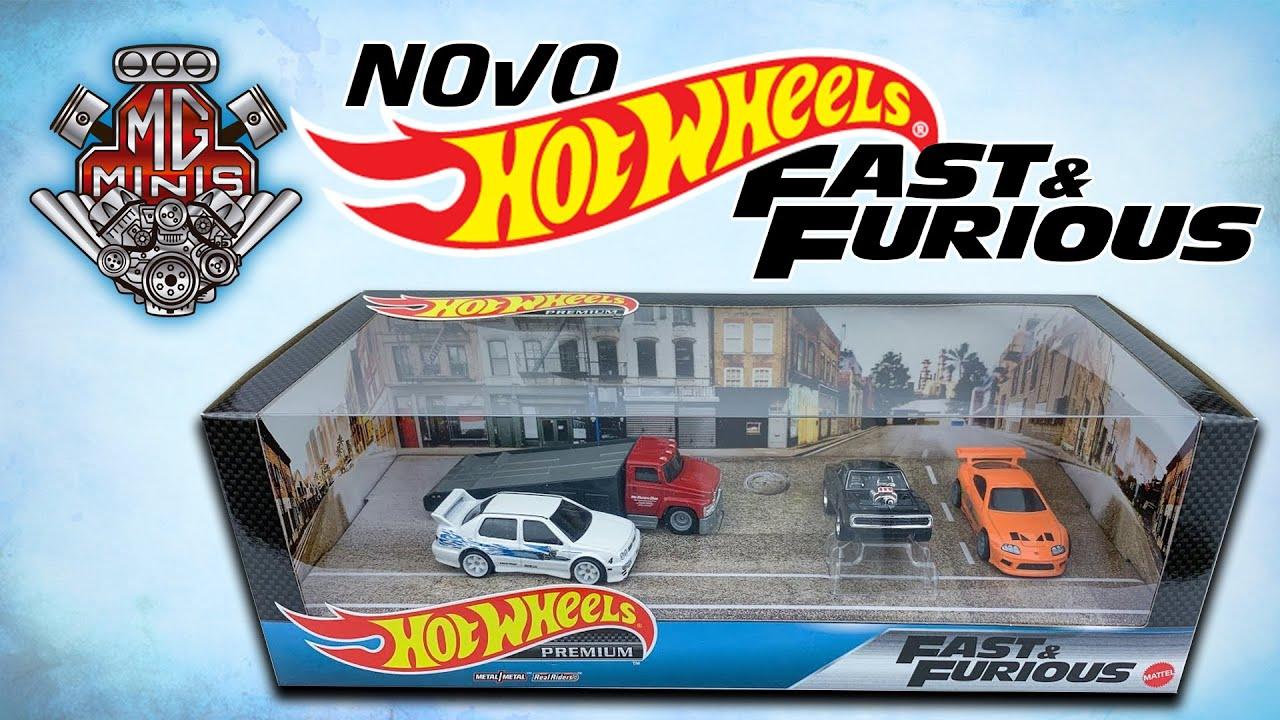 Novo Hot Wheels Premium Set Velosos e Furiosos 1:64