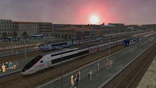 Gare SNCF de TOULON, Train SNCF, TGV, LYRIA, TER & Intercité + 50 trains ! [Open Rails/MSTS]