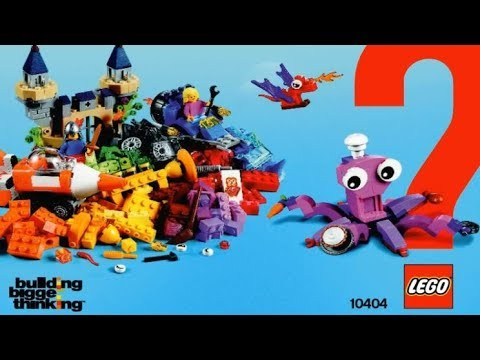 LEGO Brand Campaign Products OCEAN'S BOTTOM 10404