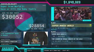 Super Mario World by bjw, Calco2, SilverStar6609, and Sten in 36:49 AHDQ 2018