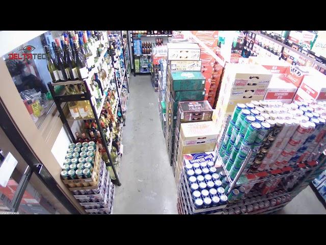 Liquor Store Security Camera