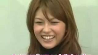 Conferencia de Prensa de Ayana acerca de su matrimonio con tetsu (L...