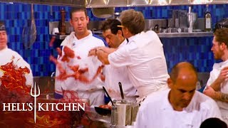 Gordon Ramsay Goes Berserk Over Wasted Fillet | Hell's Kitchen