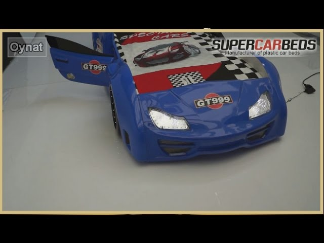 GT999 Blue Car Bed