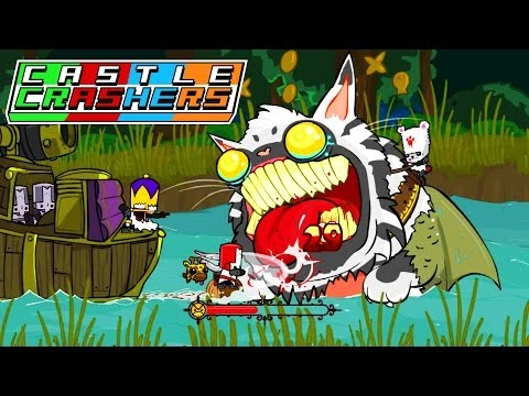 Hike Plays CASTLE CRASHERS! | Castle Crashers Multiplayer Livestream