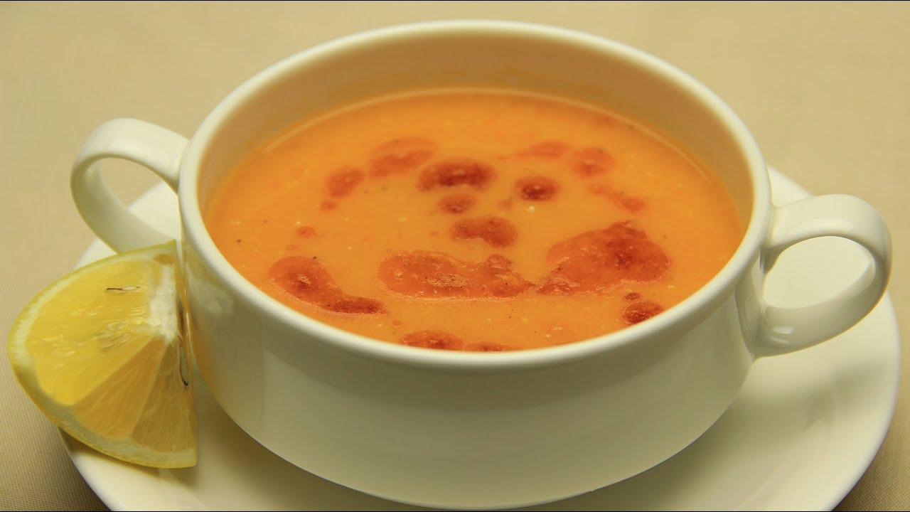 Receta de sopa de lentejas y vegetales  turca tradicional