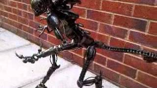 Queen Alien 60cm Metal Art Productions Scrap Parts Sculpture
