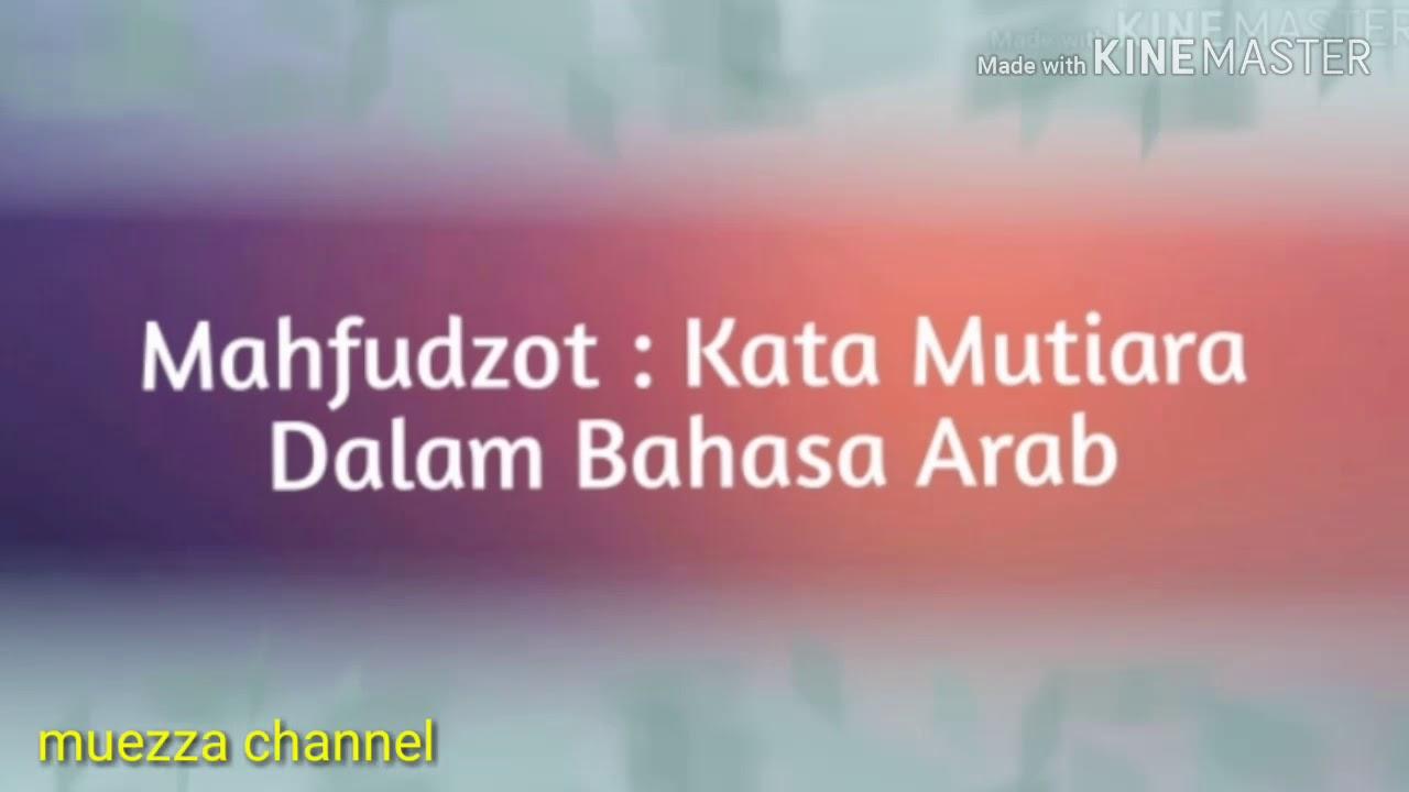Katamutiara Bahasaarab Quotes Mahfudzot Mutiara Kata Dalam