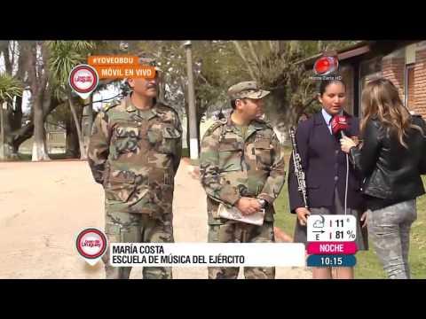 Buen día Uruguay - Escuela de Música del Ejército 01 de Octubre de 2015