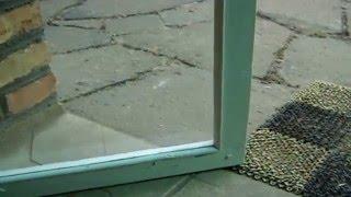 Утепление дома .Стеклопакеты из деревянных окон своими руками. Альтернатива  окнам ПВХ.