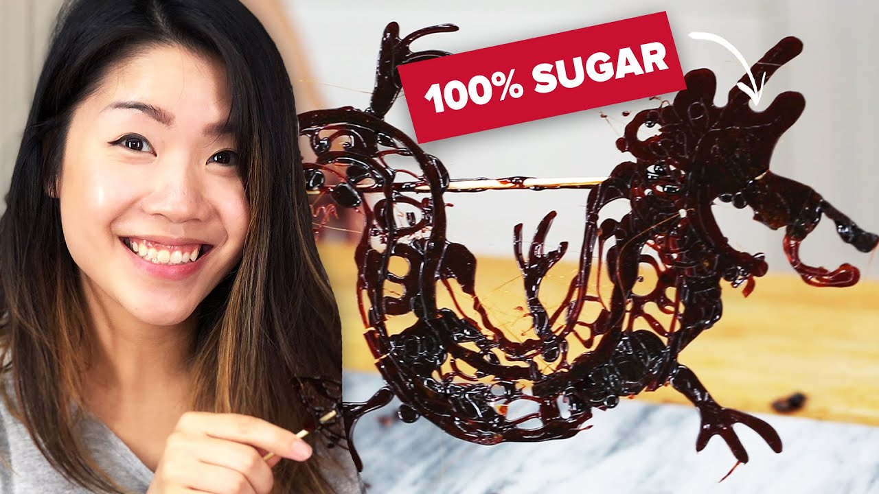 I Made The Amazing 700-Year-Old Sugar Painting From China