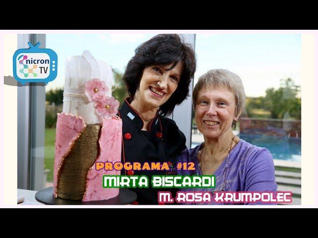 NICRON TV Decoración de Torta con Mirta Biscardi y Maria Rosa Krumpolec