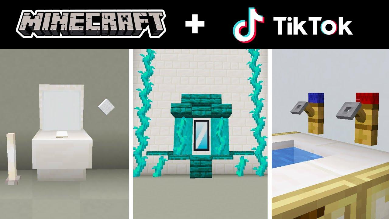 Minecraft Tik Tok Compilation 32