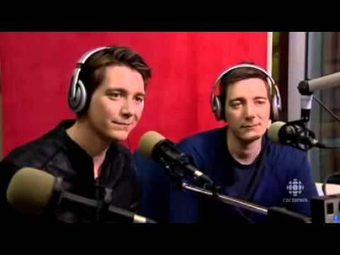 James and Oliver Phelps Radio Interview Edmonton