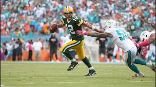 "Green Bay at Miami ""Rodgers' Fake Spike"" (2014 Week 6) Green Bay's Greatest Games"