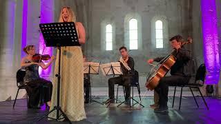 Ave Maria. César Franck - Anica Skryane & Quatuor con Fuoco