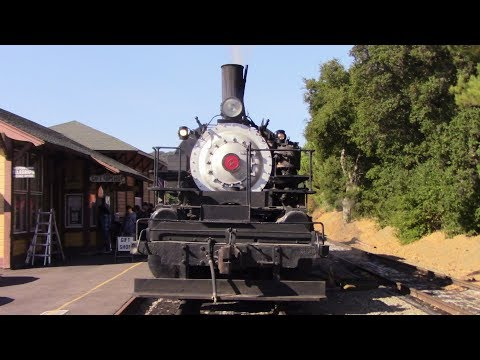 Railfanning Niles Canyon Railway & Fremont, CA 10/1/17 Featuring Clover's Last Run