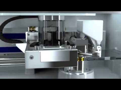 Cookson Precious Metals - Direct Metal Laser Sintering System by EOS using EOS Precious M080