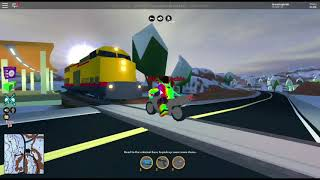 Roblox Jailbreak: Cars Getting Hit By Trains Compilation #1
