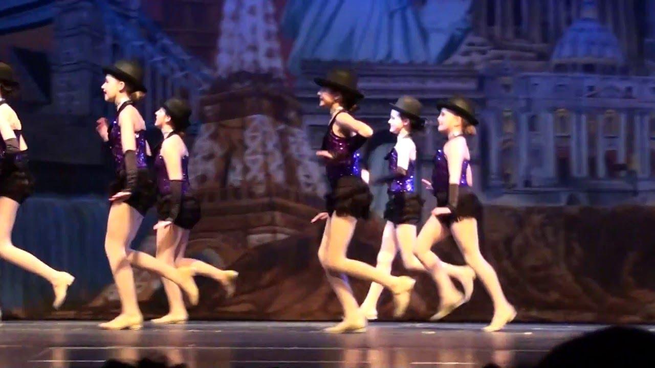 Ashtyn tap dance, On Broadway, 2016 Recital
