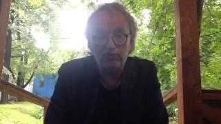 Евгений Клюев. Видеофрагмент летней встречи в издательстве