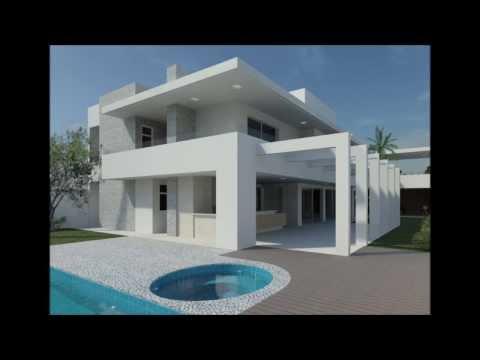 Haus Mit Satteldach Moderne Architektur   YouTube