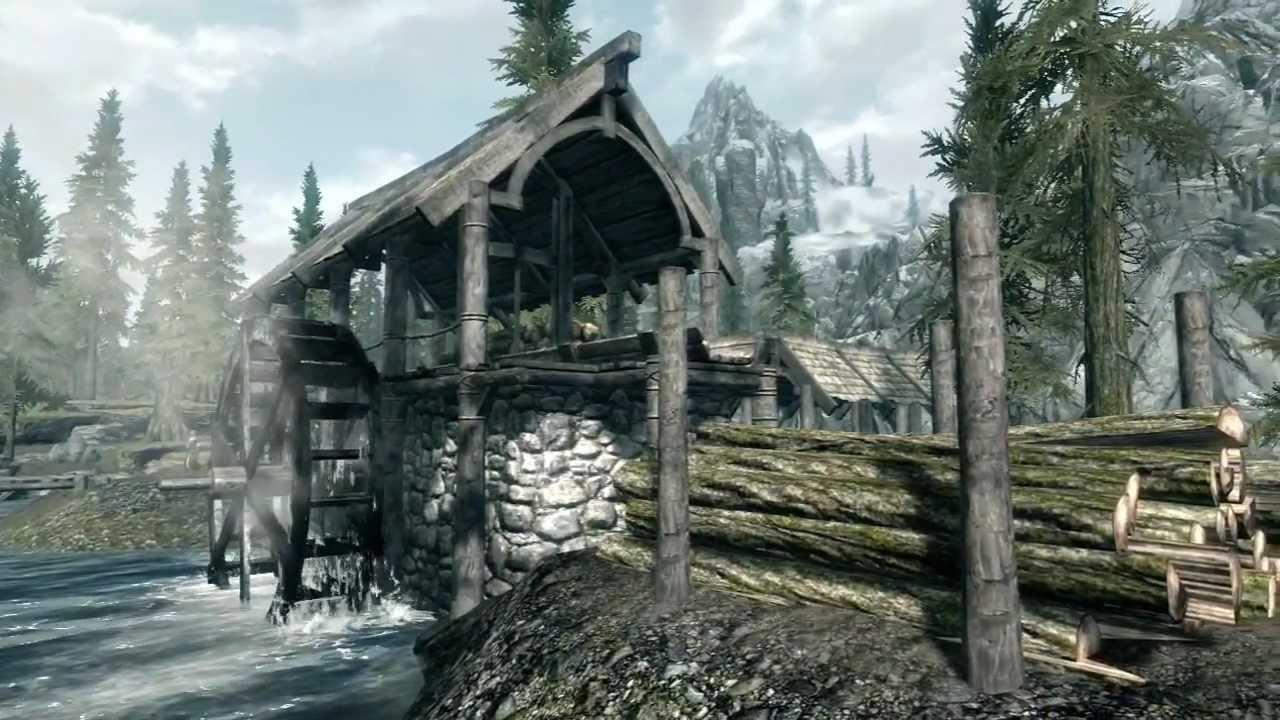 Image result for skyrim riverwood