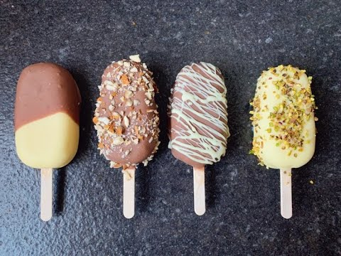 HOMEMADE MAGNUM ICE CREAMS