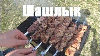 Шашлыки из свиной шеи в классическом маринаде. По-быстрому!!!