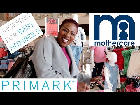 SHOPPING FOR BABY NUMBER 5 || MOTHERCARE || PRIMARK