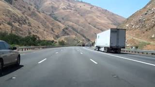 I-5 in California, The Grapevine in Both Directions